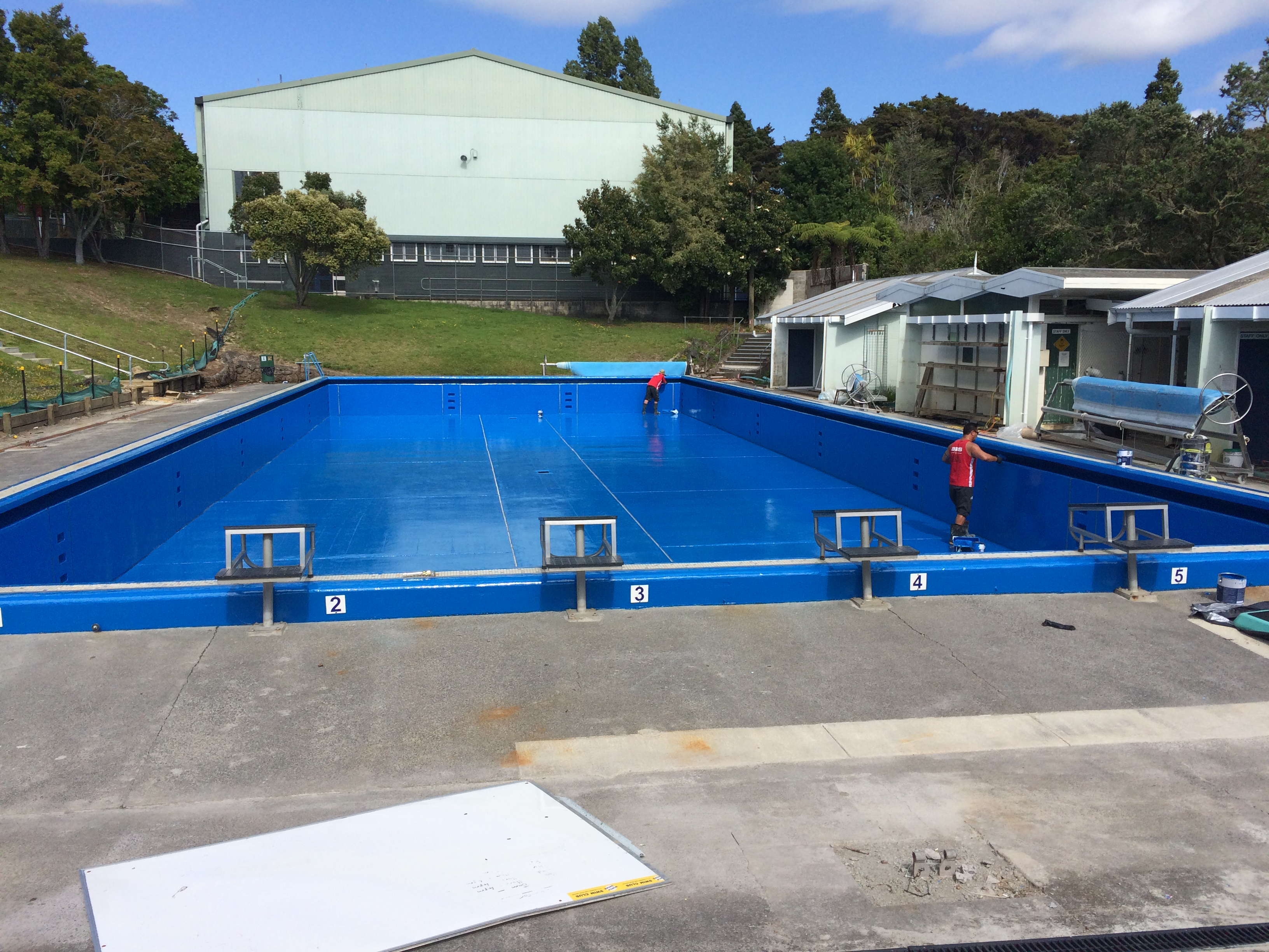 Swimming Pool Project Management : Northcote college swimming pool condition assessment